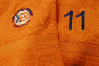 Handtuch mit Stick