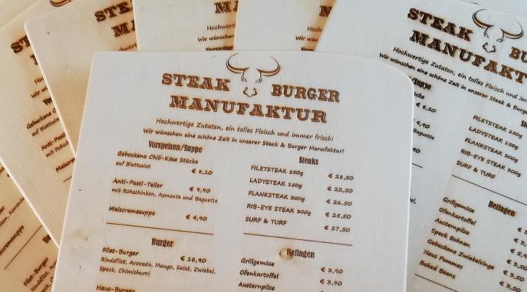 Laserung Steak